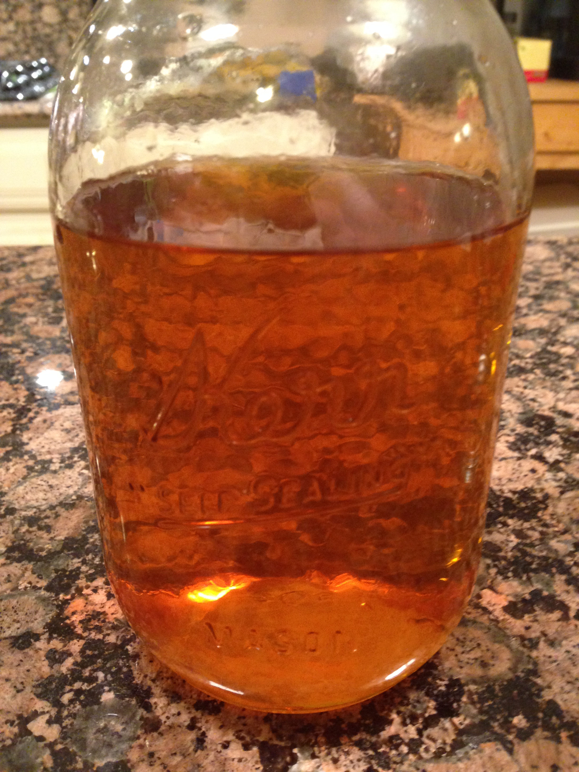 Satsuma Extract After Filtration